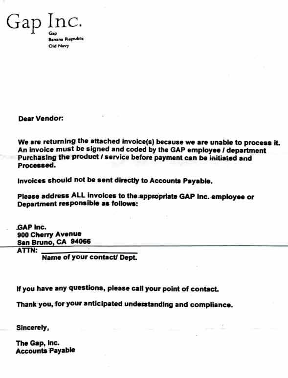 invoice past due letters